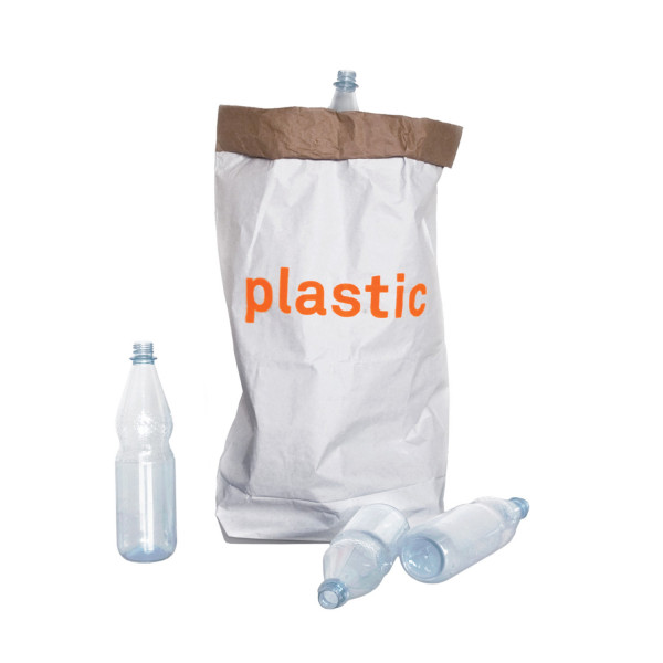 Papiersack - plastic