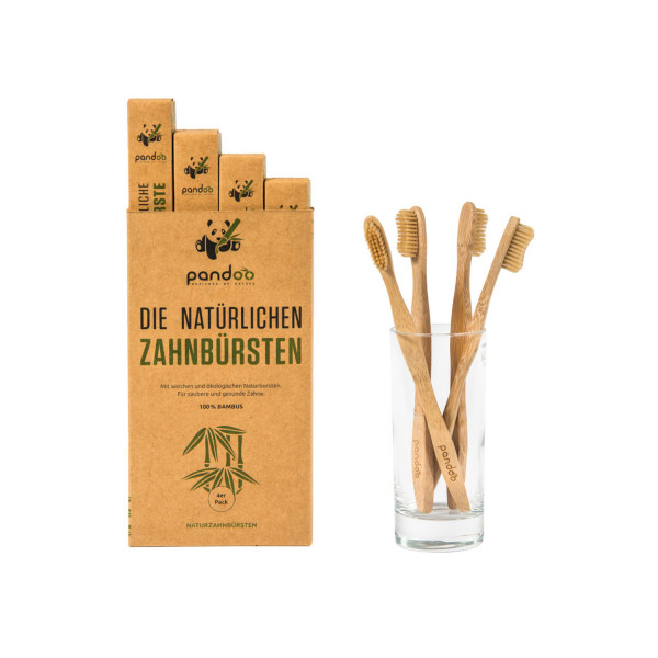 Bambus-Zahnbürste