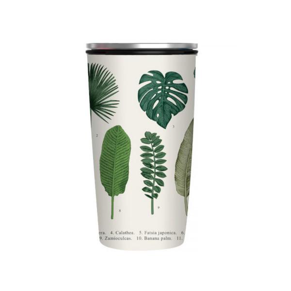 Slide CUP Botanic beige/grün