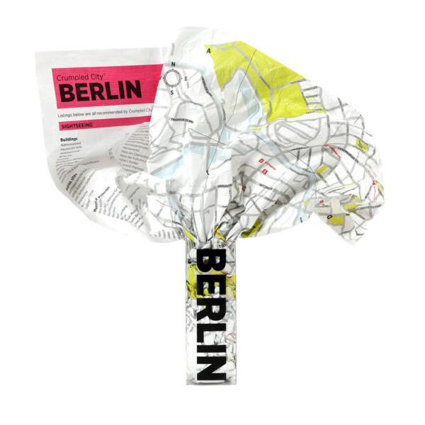 Crumpled City Map - Berlin